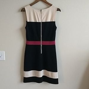 41 Hawthorn Dresses - 41 Hawthorn black pink and cream work dress size4